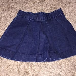 Gap kids denim skirt